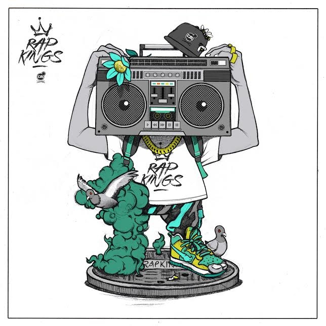 Chris B. Murray's 'Rap Kings' Comes to Life as a Collectible Toy