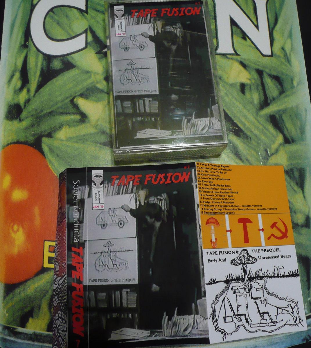 Free Download: Soviet Konducta – Tape Fusion #7: Tape Fusion 0 (The Prequel)