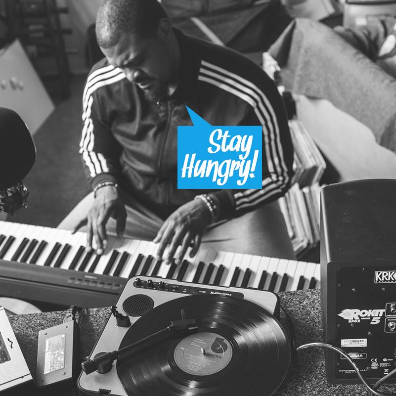 Stay Hungry #11 (INCL: Tall Black Guy, Iman Omari, Julien Mier, Herbie Hancock, Lone & more)