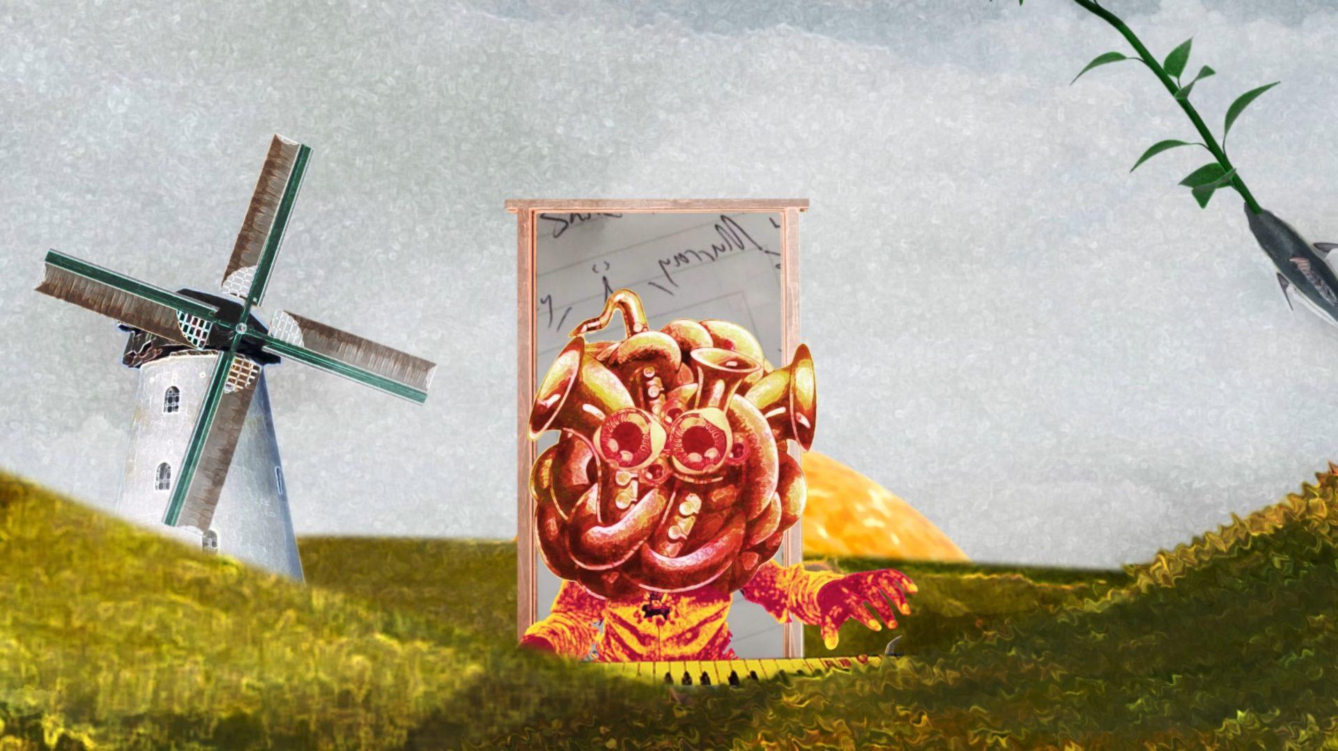 Hybrid Jazz Monsters in Thijsenterprise's 'Another Digital Handshake' Animated Video