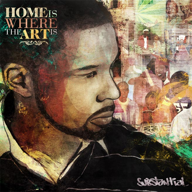 Free Download: Substantial – Home Is Where The Art Is (Instrumentals)